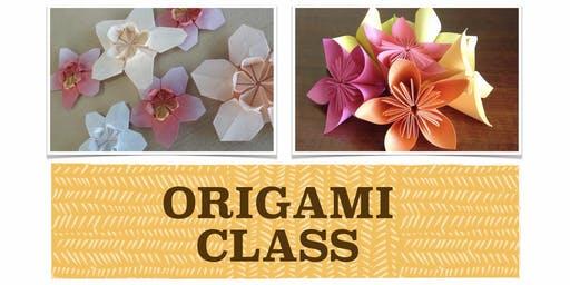 ADULTS ORIGAMI CLASS