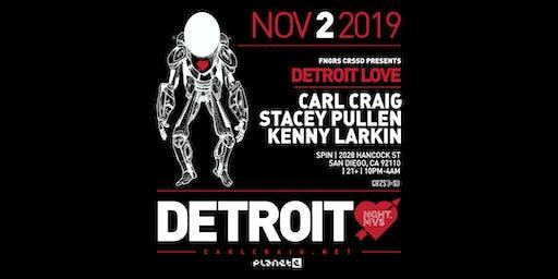 DETROIT LOVE FT CARL  CRAIG + STACEY PULLEN + KENNY  LARKIN