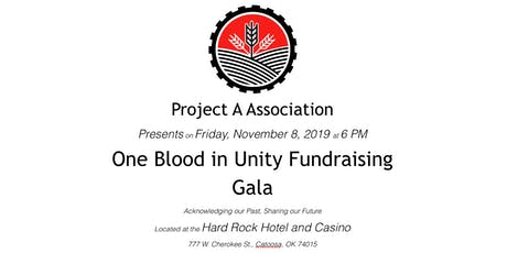 One Blood In Unity Fundraising Gala tickets
