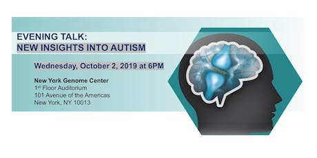 Evening Talk: New Insights into Autism tickets