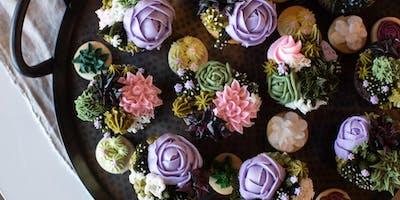 Succulent Cupcake Decorating Class