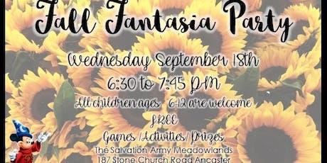 Fall Fantasia Party tickets