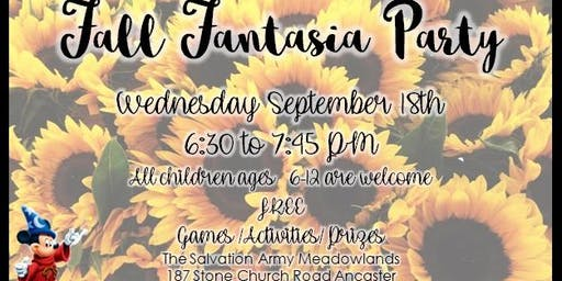 Fall Fantasia Party