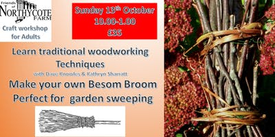 Besom Broom woodworking Craft for Adults