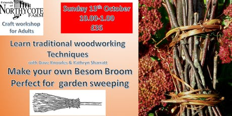 Besom Broom woodworking Craft for Adults tickets