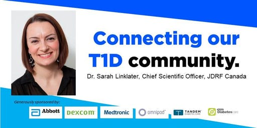 JDRF Diabetes Research Presentation featuring Dr. Sarah Linklater