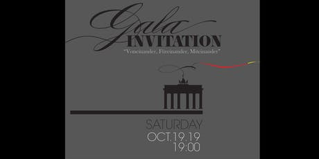 GALA 10 Year Anniversary & German Unity Day tickets