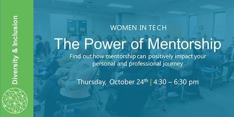 Women in Tech: The Power of Mentorship tickets