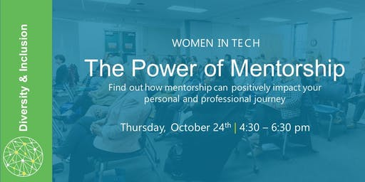 Women in Tech Event: The Power of Mentorship