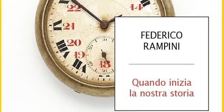 Federico Rampini: When Our History Begins tickets