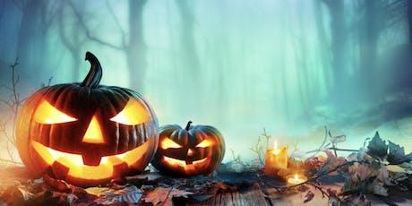 Halloween week scavenger hunt tickets