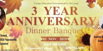 YEDS 3 Year Anniversary