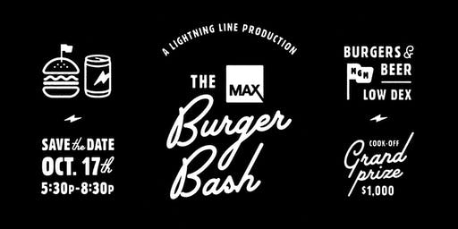 The Max Burger Bash 2019