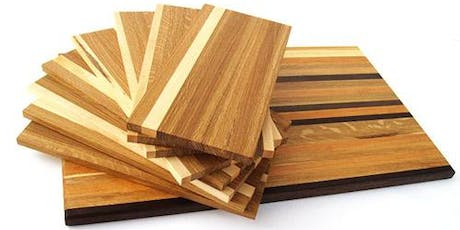 Introductory Wood Shop: Creating a Cutting Board (November 23rd and 24th, 2019) tickets