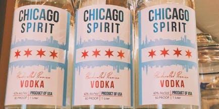 Free Vodka Tasting with Chicago Spirit