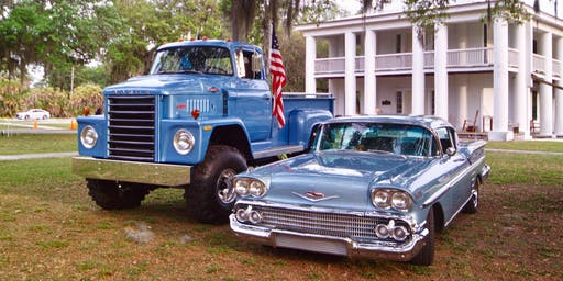 Bill Mergens Memorial Car & Truck Show at Gamble Plantation State Park