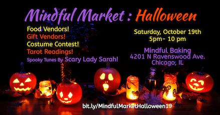 Mindful Market: Halloween tickets
