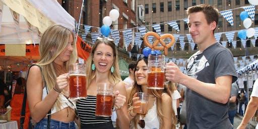 OktoberFest NYC 2019- Stone Street Oktoberfest with Sixpoint & Erdinger