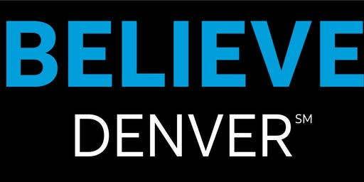 Believe Denver Launch, Suicide Prevention & Youth Support - Free