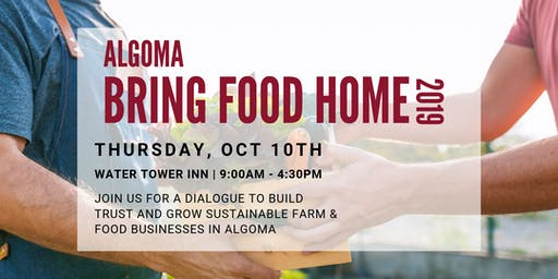 Bring Food Home Algoma 2019