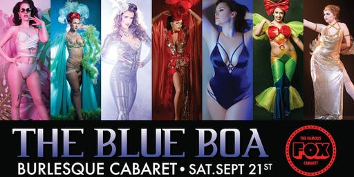 The Blue Boa Burlesque Cabaret at The Fox