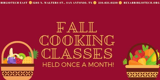Fall Cooking Classes