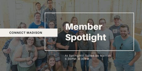 Connect Madison Member Spotlight tickets