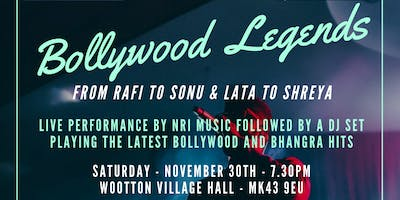 Bollywood Legends - from RAFI to SONU & LATA to SHREYA - Dinner and Dance