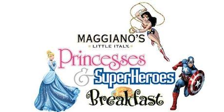 Maggiano's Little Italy- Princesses & Superhero Breakfast tickets