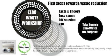 Zero waste workshop : first steps towards waste reduction tickets