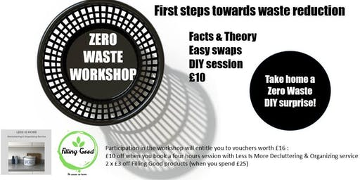 Zero waste workshop : first steps towards waste reduction