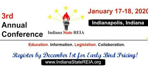 Indiana Real Estate Investing Networking,Education&Legislation Annual Event