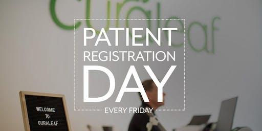 Curaleaf Hudson Valley New Patient Registration Day