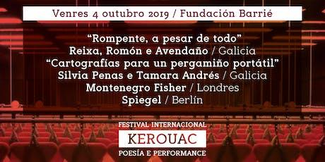 Festival Internacional Kerouac Poesía e Performance entradas