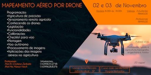 3° Curso de Pilotagem e Drones e Mapeamento Aéreo