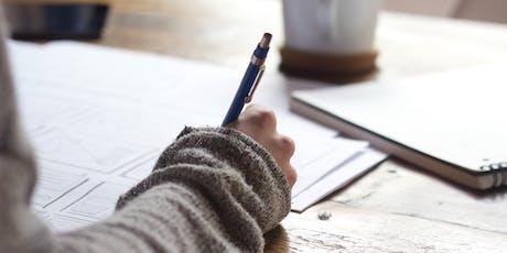 STORYTELLING THROUGH CREATIVE WRITING tickets