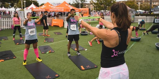 OTF Mini-Workouts at Susan G Komen MORE THAN PINK Walk