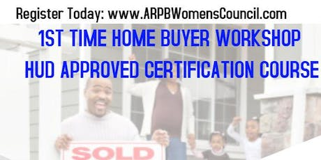 Home Buyer Workshop (HUD Approved Certification Course) tickets