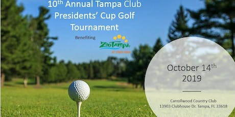 10th Annual Tampa Club Presidents' Cup Golf Tournament tickets