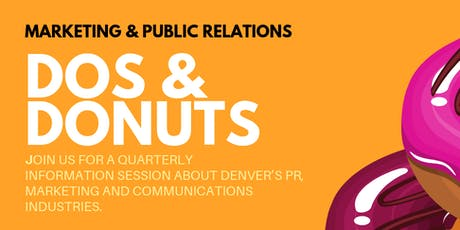 Marketing & Public Relations Dos & Donuts tickets
