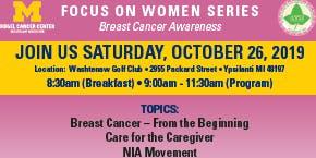 Focus on Women Series: Breast Cancer Awareness