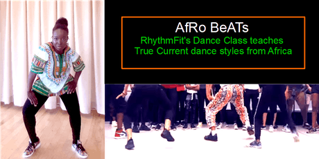 AFRO BEATS (Dance class teaches true current dance styles from Africa) tickets