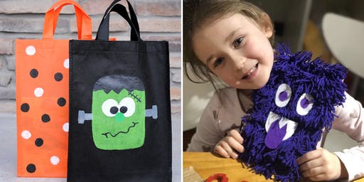 Craft'd Bus Workshops: Halloween Crafts