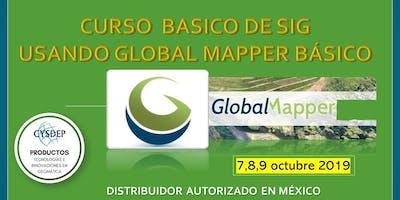 CURSO DE SIG USANDO GLOBAL MAPPER BÁSICO (3 dias)