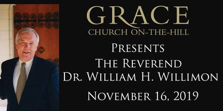 Dr. Will Willimon in Toronto - The Calling of Christians Today billets
