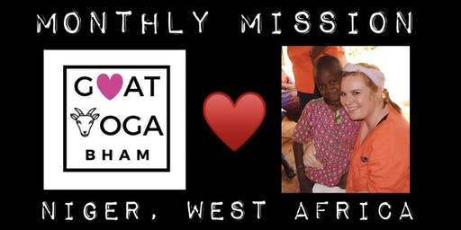 Goat Yoga MONTHLY MISSIONS-Niger, West Africa