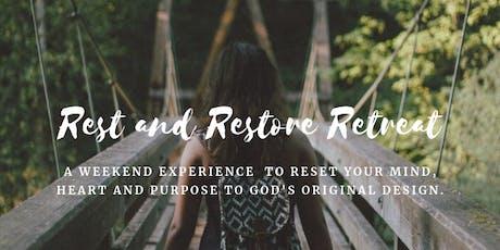 Reset & Restore Retreat tickets