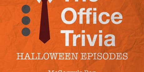 "The Office ""Brunch"" Trivia: Halloween Episiodes tickets"
