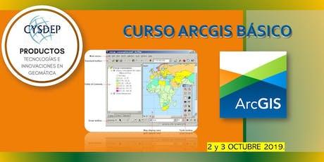 CURSO ARCGIS BÁSICO (2 dias) entradas