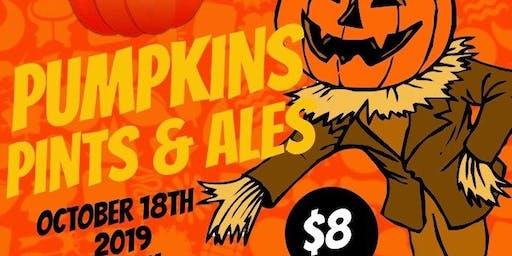 Pumpkins Pints & Ales!